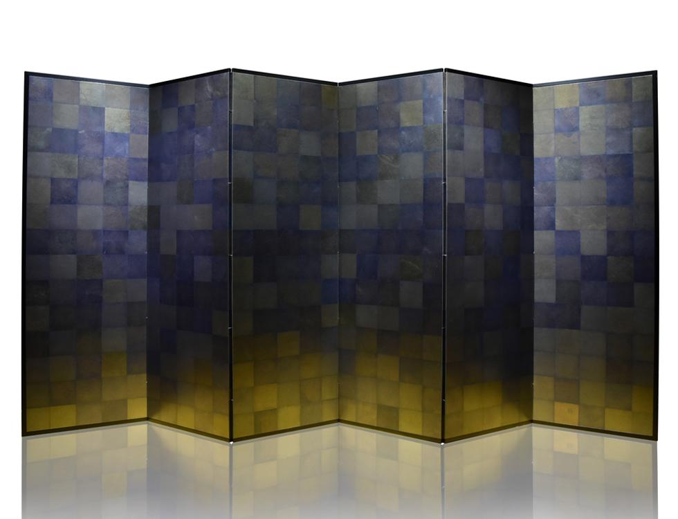 黒貝箔 H176cm×W57.5cm