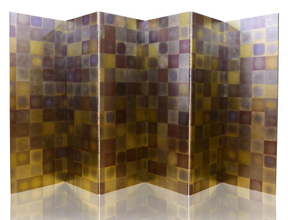 七彩箔 H176cm×W57.5cm