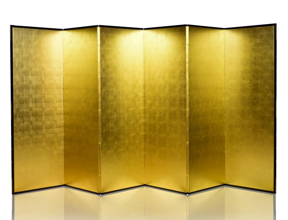 真鍮箔 H176cm×W57.5cm